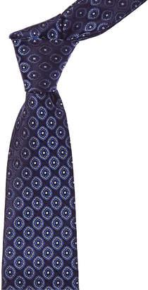 Canali Blue Paisley Silk Tie