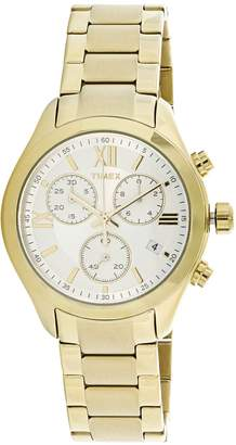 Timex Women's Miami Chronograph TW2P93700 Stainless-Steel Quartz Fashion Watch