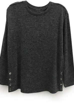 RD Style Steel Sweater W/snaps