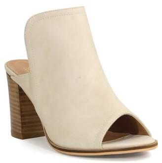 1aff9dedbc5 Catherine Malandrino Atomie Block Heel Peep Toe Mule