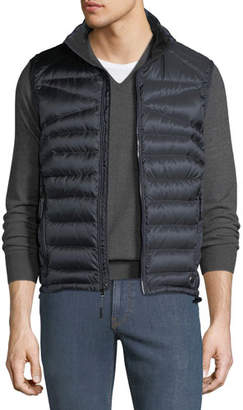 Ralph Lauren Men's Zip-Front Down Puffer Vest, Navy
