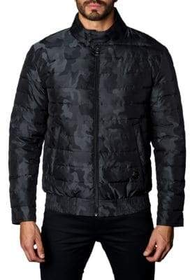 Jared Lang Chicago Camouflage Down Puffer Jacket