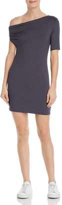 Enza Costa Italian Shine Asymmetric Dress