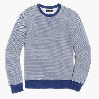 J.Crew Indigo striped sweatshirt