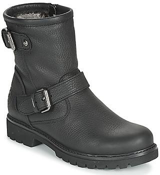 Panama Jack FELINA women's Mid Boots in Black