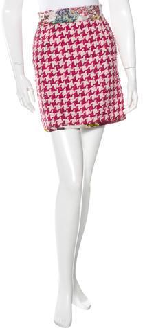 Dolce & GabbanaD&G Tweed Mini Skirt