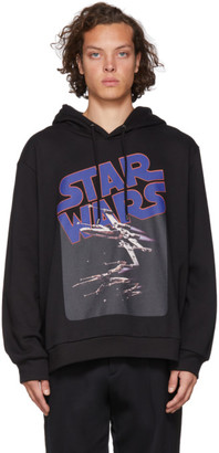 Etro Black Star Wars Edition X-Wing Hoodie