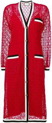 Gucci v-neck dress
