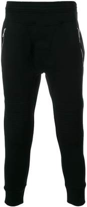 Neil Barrett biker detail track pants