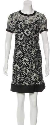 Marc by Marc Jacobs Embroidered Mini Dress
