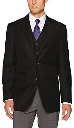 Steve Harvey Men's Solid Regular Fit Suit Separate Jacket