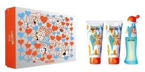Moschino Three-Piece I Love Love Eau de Toilette Gift Set