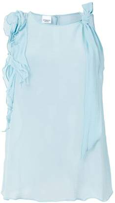 Pinko appliqué sleeveless blouse