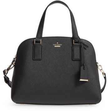 Kate Spade Kate Spade New York Cameron Street - Lottie Leather Satchel - Black