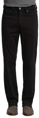 34 Heritage Charisma Comfort-Rise Classic Straight Fit Jeans in Select Double Black $195 thestylecure.com