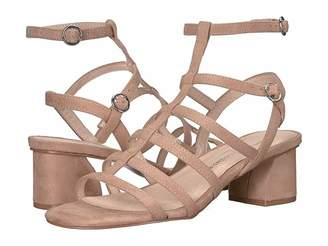 8c053366ea Chinese Laundry Beige Wrapped Heel Women's Sandals - ShopStyle