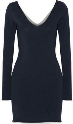 A.L.C. Blaine Reversible Stretch-Knit Mini Dress