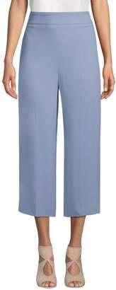 Max Mara Women's Genepi Cropped Wide-Leg Pants