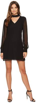 CeCe Zoey - Long Sleeve Bar Neck High-Low Dress Women's Dress