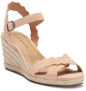 Lucky Brand Marleigh Wedge Ankle Strap Sandal