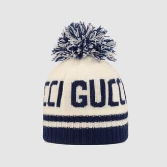 Gucci Children's jacquard wool hat