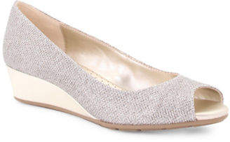 Bandolino Candra Peep Toe Wedge Sandals