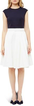 Ted Baker Color-Block Dress $365 thestylecure.com