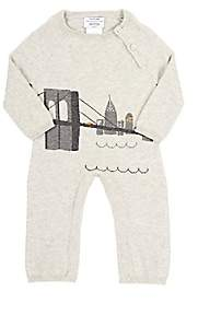 Lucky Jade Infants' NYC Skyline Coverall-Gray