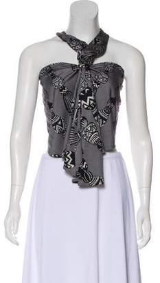 Mara Hoffman Silk Backless Top