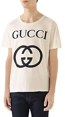 Gucci Men's Interlocking G Oversize T-shirt