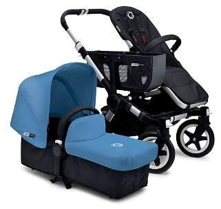Bugaboo Donkey Tailored Fabric Set with Extendable Sun Canopy