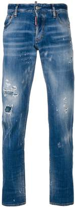DSQUARED2 Spray Tidy Biker jeans