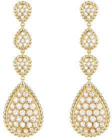 Boucheron Serpent Boheme 18k Diamond Drop Earrings