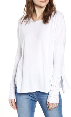 Frank And Eileen Long Sleeve Shirttail Tee