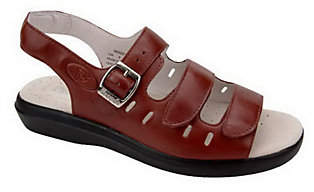 Propet Leather Sandals - Breeze Walker