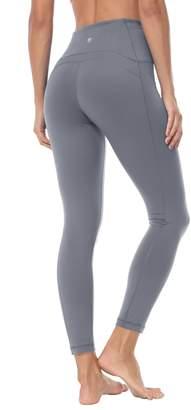 cab57e88fb472 QUEENIEKE Queenie Ke Women Yoga Leggings Ninth Pants Power Flex Mid Waist  Running Gym Tights Size