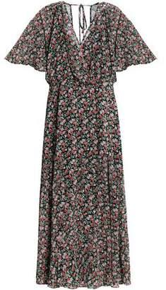 Rebecca Minkoff Wrap-Effect Floral-Print Chiffon Midi Dress