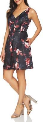 Cynthia Steffe CeCe by Rose V-Neck Dress