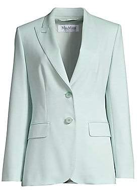Max Mara Women's Berma Wool Two-Button Suit Jacket