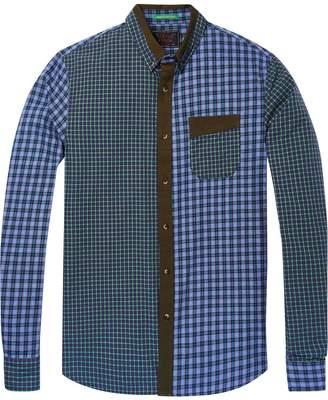 Scotch & Soda Mixed Pattern Shirt