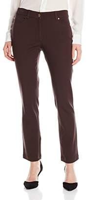 Rafaella Women's Five-Pocket Slim-Leg Pant