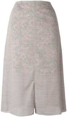 Julien David slit skirt