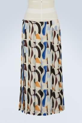 540e2a28b1 Victoria Beckham Long pleated skirt
