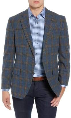 Kroon Taylor Classic Fit Plaid Wool & Cashmere Sport Coat
