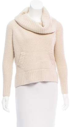 Autumn Cashmere Long Sleeve Turtleneck Sweater