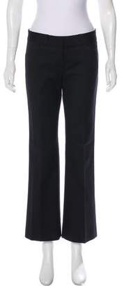 Theory Wide-leg Mid-Rise Pants