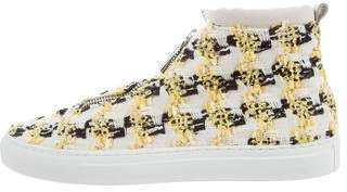 Diemme Woven High-Top Sneakers w/ Tags