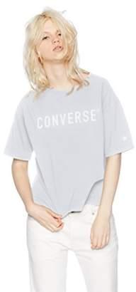 Converse (コンバース) - [コンバース] 半袖Tシャツ(8282-8819) OTH-657 レディース ライトブルー 日本 L (日本サイズL相当)