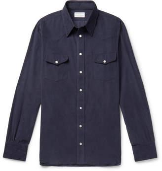 Turnbull & Asser Kingsman + Cotton-Corduroy Shirt