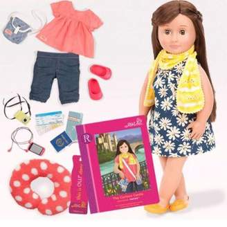 Our Generation Deluxe Doll (With Book) - Reese